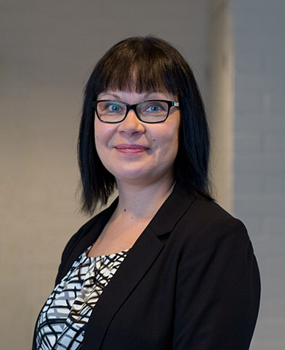 Jytaksin tuotantopäällikkö Pia Pärnänen