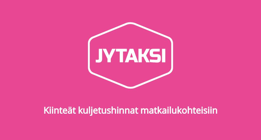 Kiinteät kuljetushinnat matkailukohteisiin Jyväskylässä
