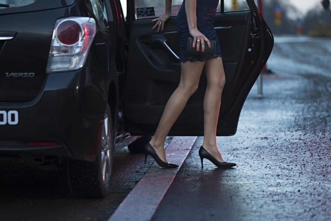 pikkujoulu taksi