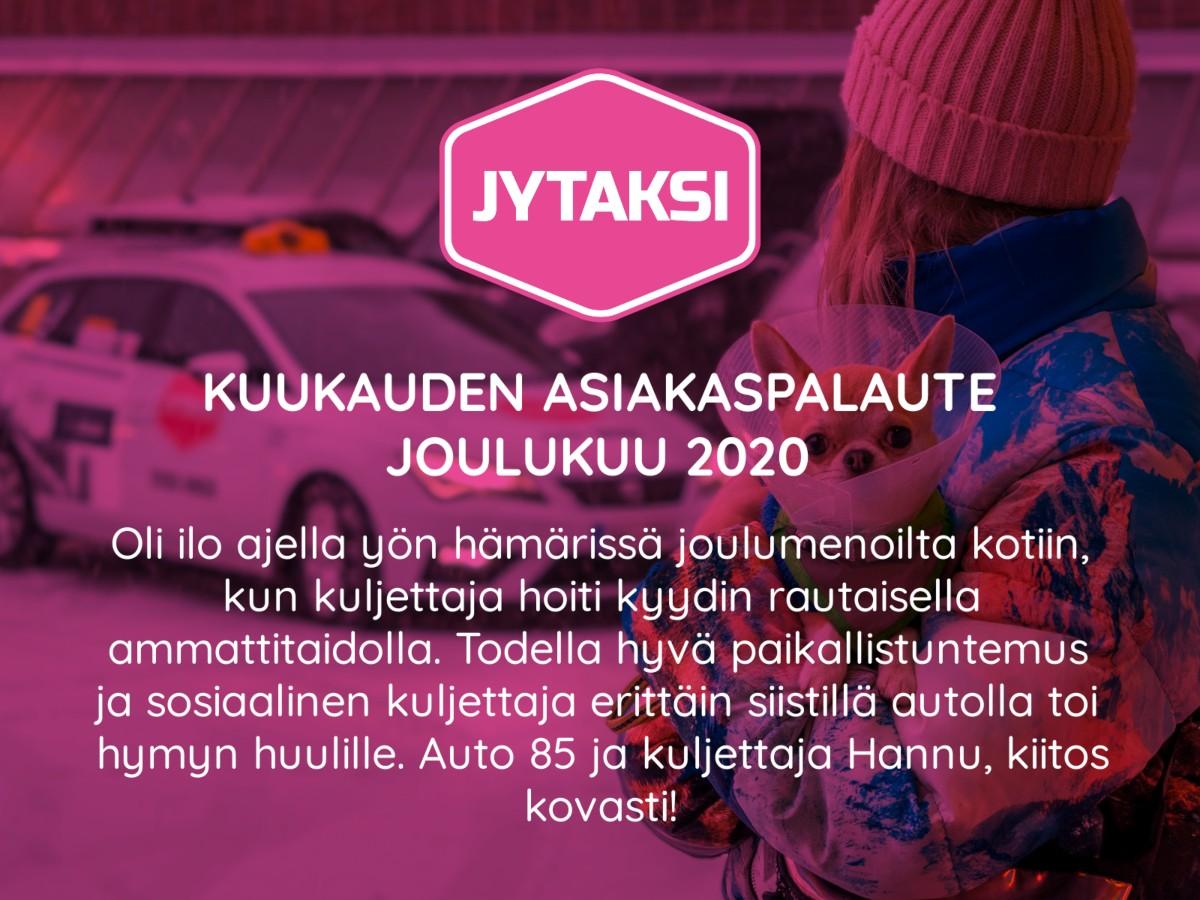 Taksi Jyväskylä Hinta